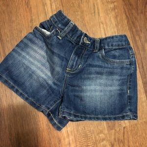 Girls old navy sz 12 Jean Shorts adjustable